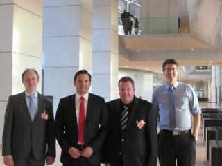 Treffen mit Dr. Fechner im Bundestag